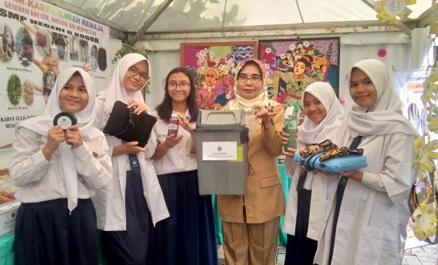 Karya Ilmiah SMPN 6 Kota Bogor Manfaatkan Bahan di Sekitar Sekolah