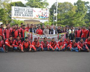 Polres Jakarta Selatan Gandeng Bikers Sambut Pemilu Damai