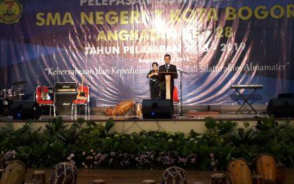 SMAN 7 Kota Bogor Lepas Para Lulusan Dengan Penuh Pengharapan